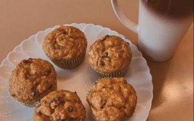 Mrs. Yoder's Pumpkin Chocolate Chip Muffins